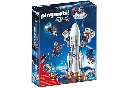 PLAYMOBIL City Action: Lanceerbasis met raket (6195) - Giga-Bikes ...