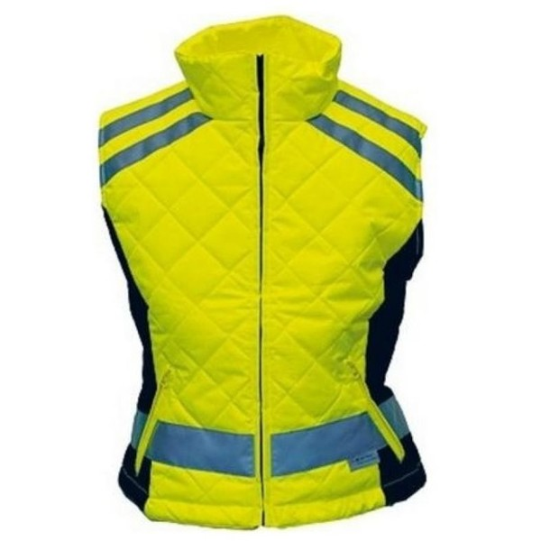 4 Act Veiligheidsbodywarmer Stevig Unisex Geel Maat S Onderdelen & Accessoires aanschaffen doe je het voordeligst hier