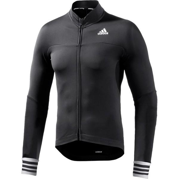 adidas fietsshirt Adistar LS heren zwart maat XS