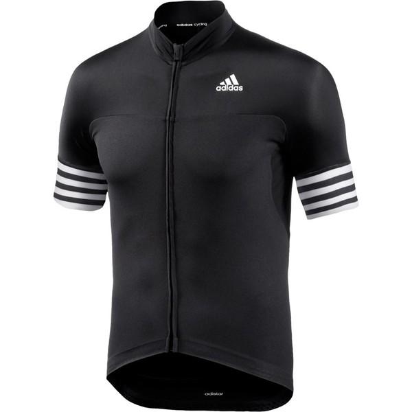 adidas Fietsshirt Adistar SS korte mouw dames zwart maat XXS