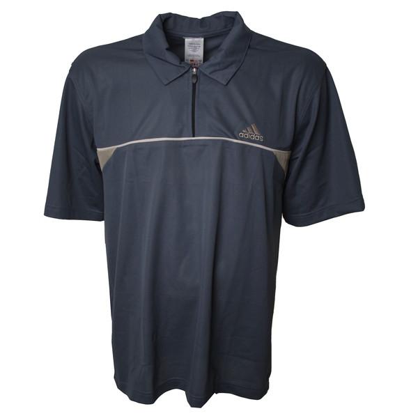 Adidas T en C Leisure polo heren donkerblauw maat L