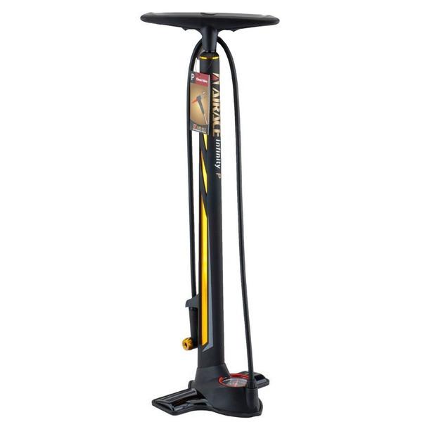 Afbeelding van Airace fietspomp met barometer Infinity 75 cm zwart