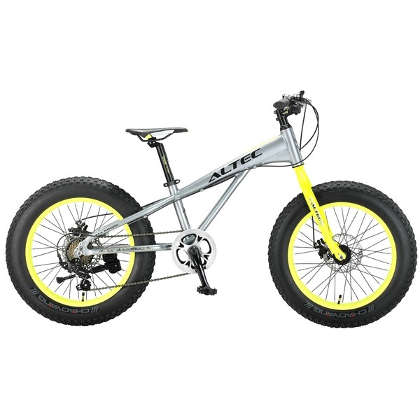 Altec FAT Bike Allround 20 Inch 29 cm Jongens 7V Schijfrem Grijs thumbnail