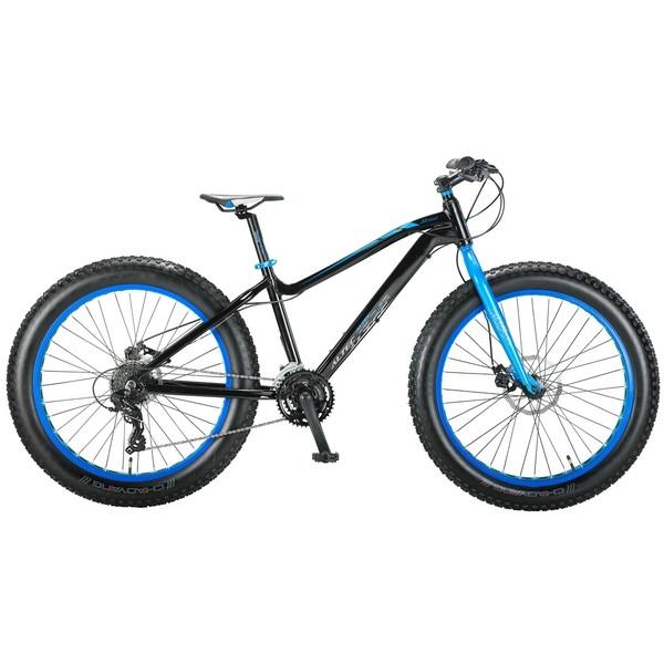 Altec FAT Bike Allround 26 Inch 41 cm Heren 21V Schijfrem Zwart thumbnail