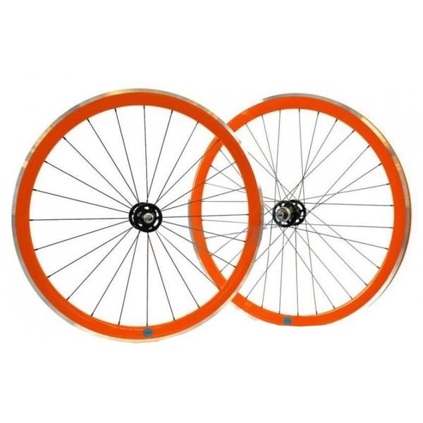 ambrosio wielset scattofisso 28 inch velgrem aluminium 24 32g oranje