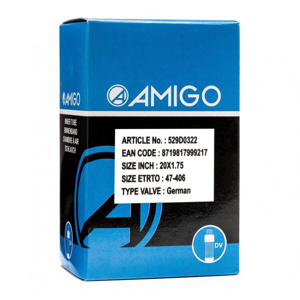 Afbeelding van AMIGO Binnenband 20 x 1.75 (47 406) DV 45 mm