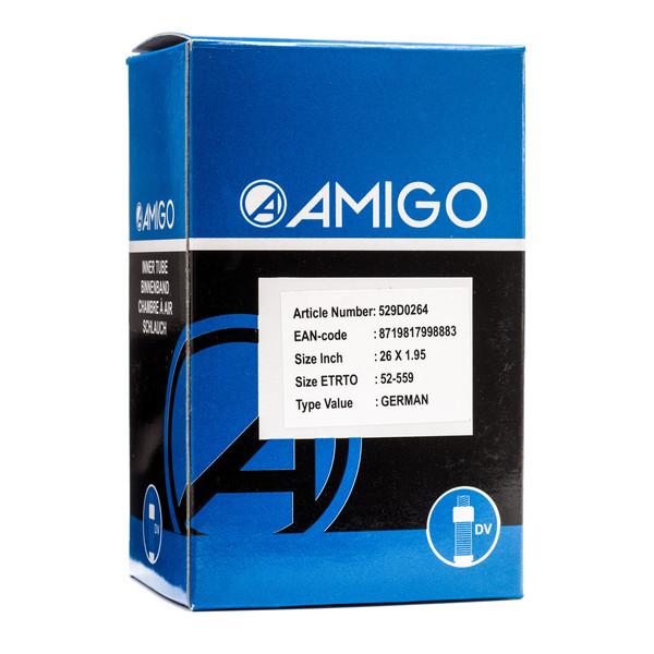 Afbeelding van AMIGO Binnenband 26 x 1.95 (52 559) DV 45 mm