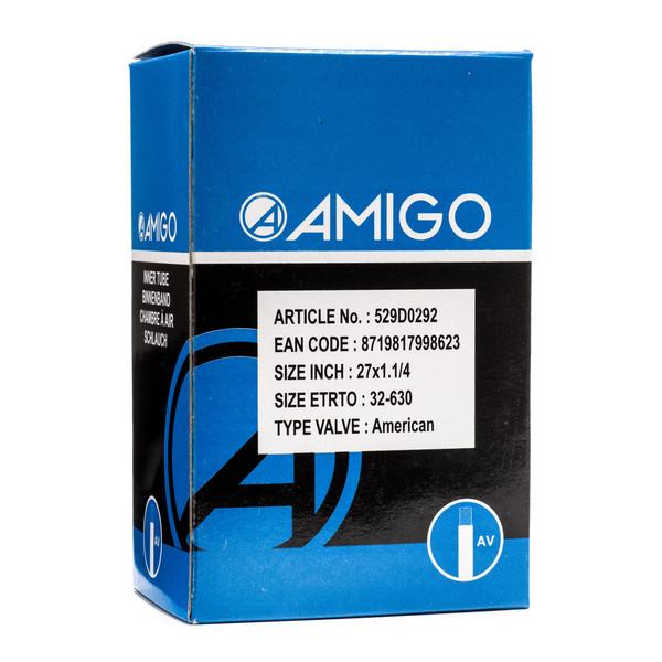 Afbeelding van AMIGO Binnenband 27 x 1 1/4 (32 630) AV 48 mm