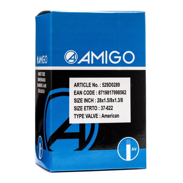 Afbeelding van AMIGO Binnenband 28 x 1 5/8 x 1 3/8 (37 622) AV 48 mm