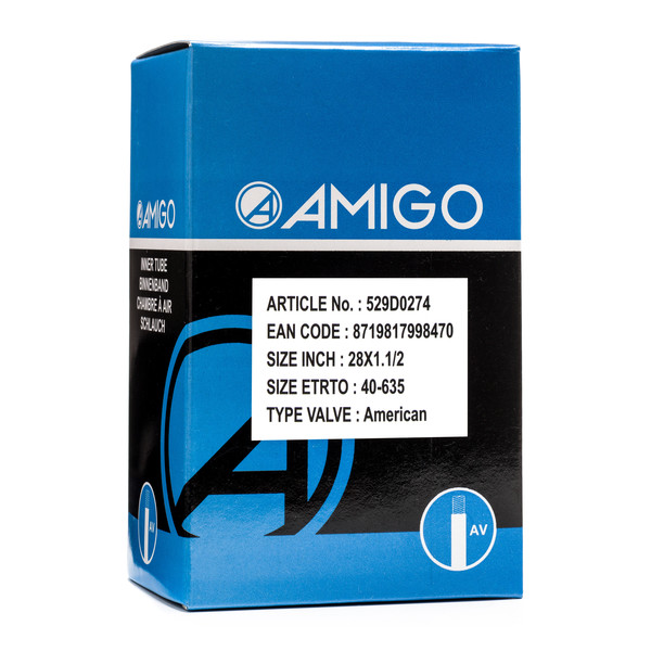 Afbeelding van AMIGO Binnenband 28 x 1 1/2 (40 635) AV 48 mm