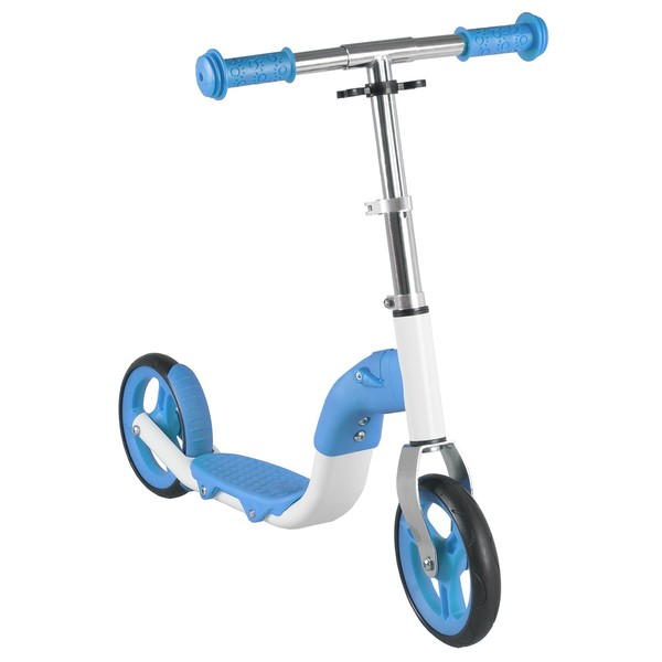 Anlen Loopfiets en Step 2in1 Junior Blauw/Wit
