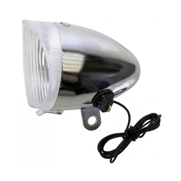 Afbeelding van Anlun koplamp halogeen dynamo zilver