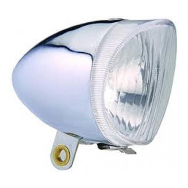 Afbeelding van Anlun koplamp dynamo buitenaansluiting zilver