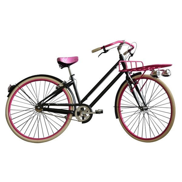 Aurelia 1028SD Single Speed 28 Inch 43 cm Dames V Brake Zwart