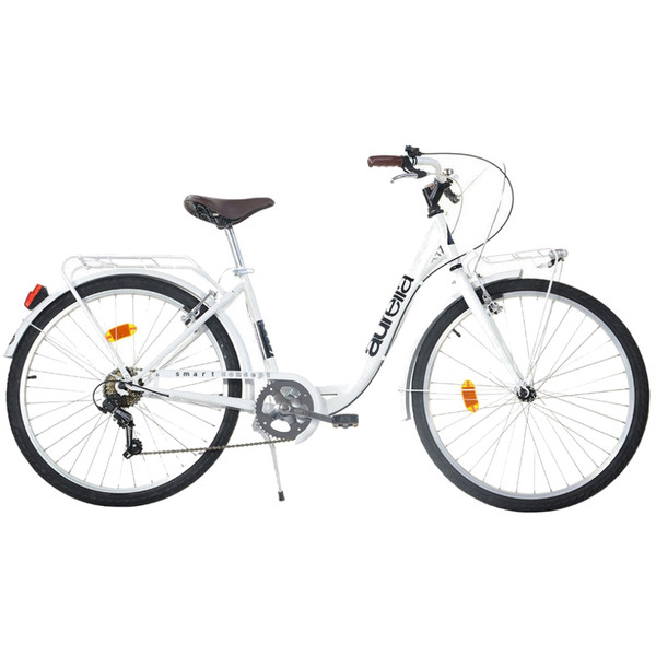 Aurelia Smart City 26 Inch 43 cm Meisjes 6V V Brake Wit