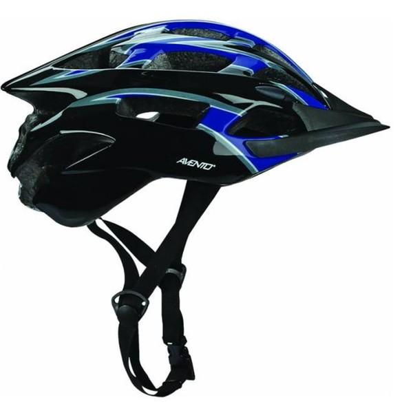 Avento Fietshelm senior unisex zwart blauw maat 54/58 cm Onderdelen & Accessoires aanschaffen doe je het voordeligst hier