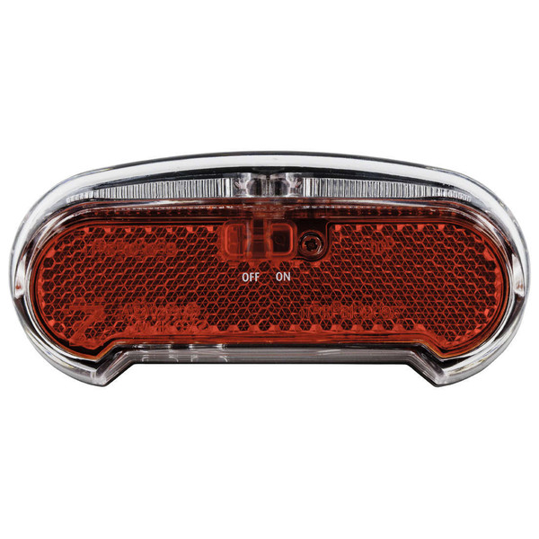 Afbeelding van AXA Achterlicht Riff Switch LED batterij aan/uit zwart