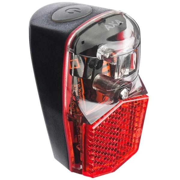 Afbeelding van AXA Achterlicht Run Compact batterij LED 62 x 37 mm rood
