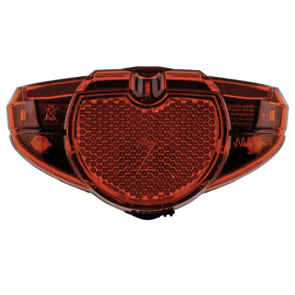 Afbeelding van AXA Achterlicht Spark RKF LED Batterij Zwart Rood