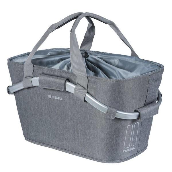 Basil designmand Carry All achter 22 liter grijs