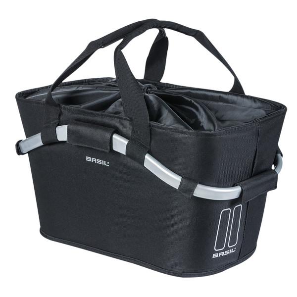 Basil designmand Carry All achter 22 liter zwart