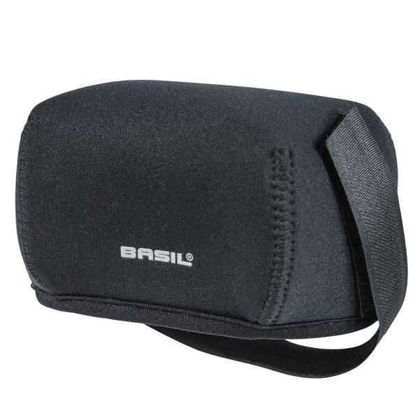 Basil hoes bagagedrageraccu universeel neopreen zwart-lime