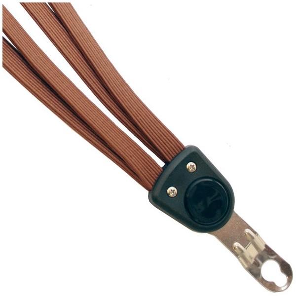 Afbeelding van Bibia snelbinder Quattro Strong 26/28 inch bruin