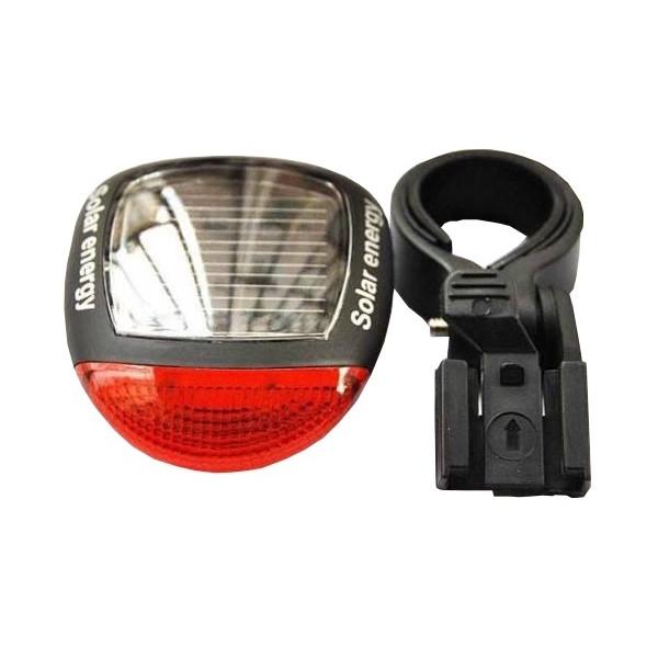 Afbeelding van Bicycle Gear achterlicht Solar led zwart