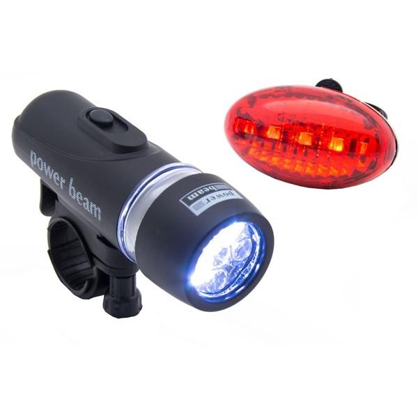 LED fietslampenset met beugel