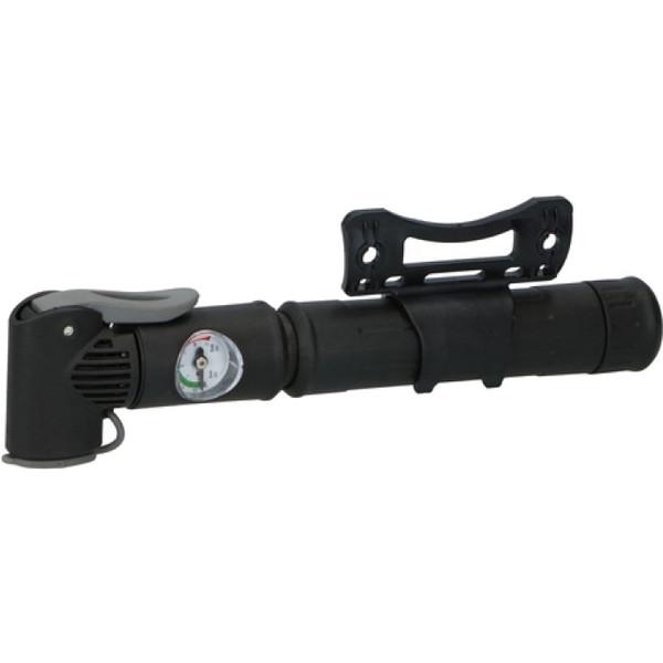 Bicycle Gear handpomp met drukmeter 22,5 cm zwart thumbnail