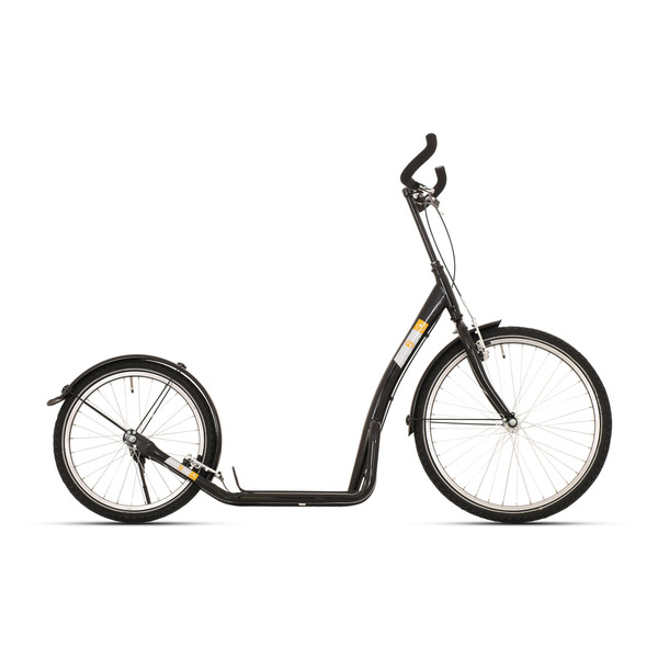 Bike Fun step Bike2Go 24 Inch Unisex V Brake Zwart