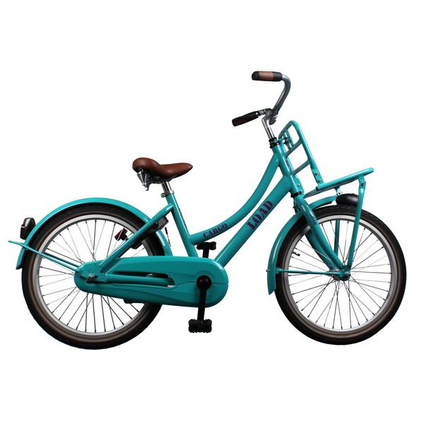 Afbeelding van Bike Fun Cargo Load 20 Inch 33 cm Meisjes Terugtraprem Groen