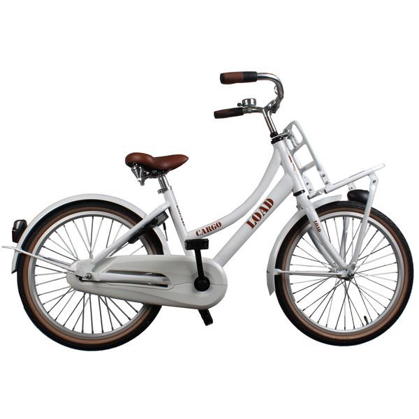 Afbeelding van Bike Fun Cargo Load 20 Inch 33 cm Meisjes Terugtraprem Wit