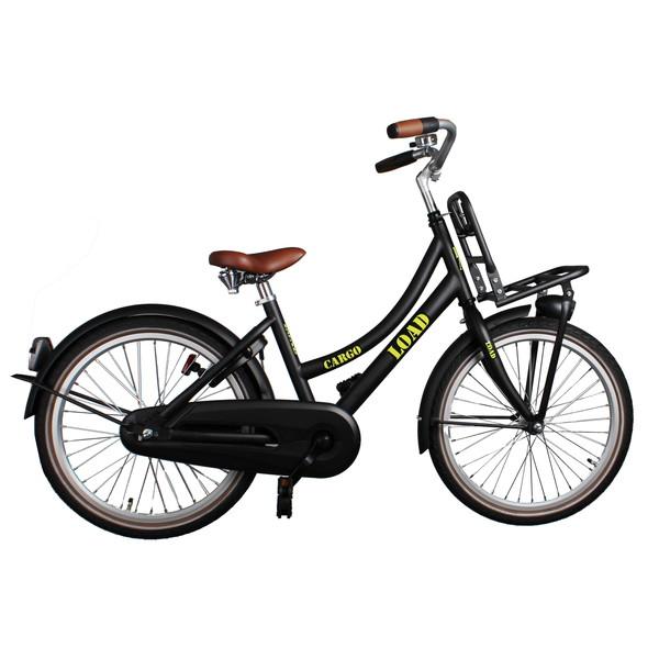 Afbeelding van Bike Fun Cargo Load 20 Inch 33 cm Meisjes Terugtraprem Zwart