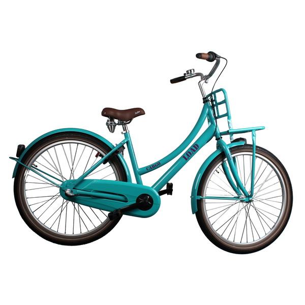 Afbeelding van Bike Fun Cargo Load 26 Inch 43 cm Meisjes 3V Terugtraprem Groen