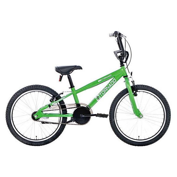 Bike Fun Cross Tornado 20 Inch 40 cm Junior Terugtraprem Groen