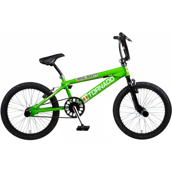 Bike Fun Tornado 20 Inch 55 cm Junior V Brake Groen