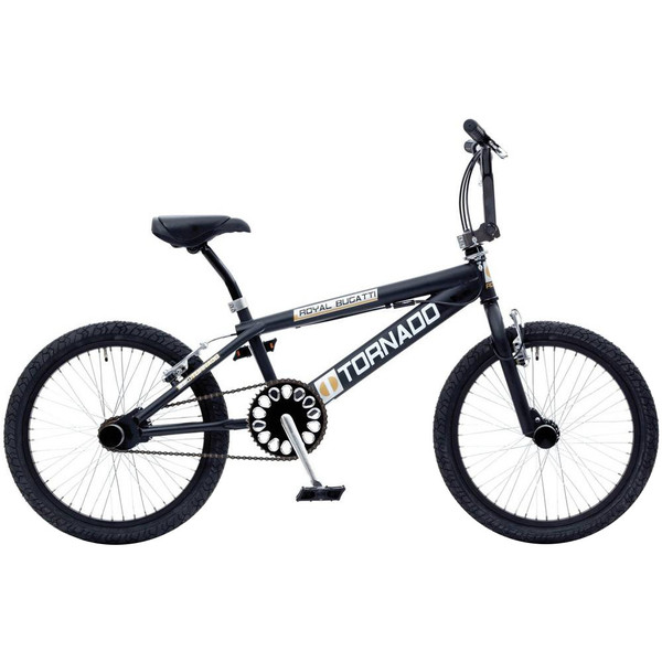 Bike Fun Tornado 20 Inch 55 cm Junior V Brake Matzwart