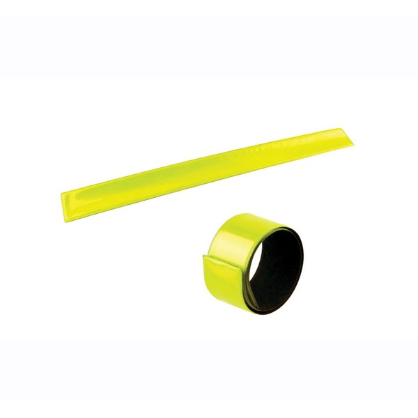 Afbeelding van 4 Act Veiligheidsarmband Slap Wrap Geel 34 cm
