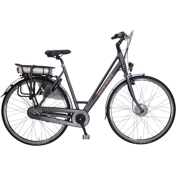 Bikkel iBee CY 28 Inch 46 cm Dames 8V Rollerbrakes Matgrijs