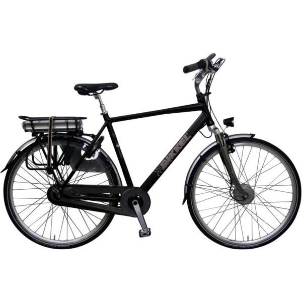 Bikkel iBee TB 28 Inch 52 cm Heren 7V Rollerbrake Matzwart