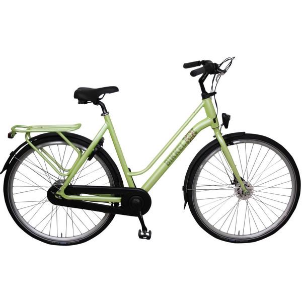 Bikkel Luminous 28 Inch 50 cm Dames 7V Rollerbrake Lime