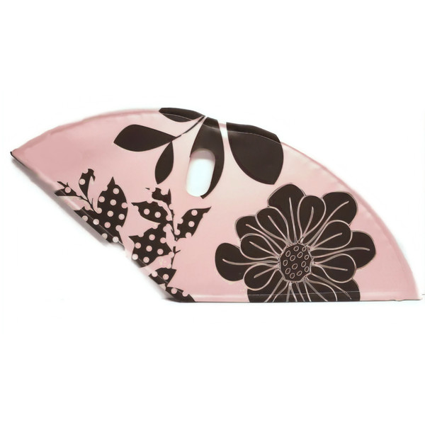 Afbeelding van BLS jasbeschermerset lakdoek 28 inch 57 cm bloemen zacht roze