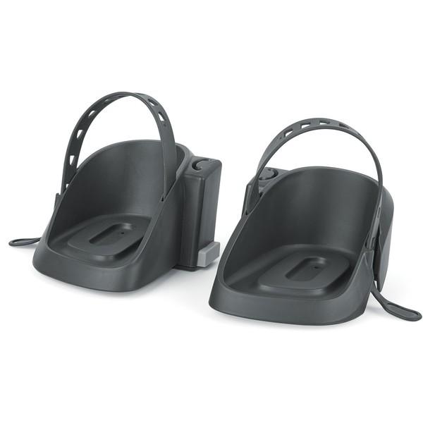 Bobike voetenbakjes voor de Bobike One mini zwart 2 stuks