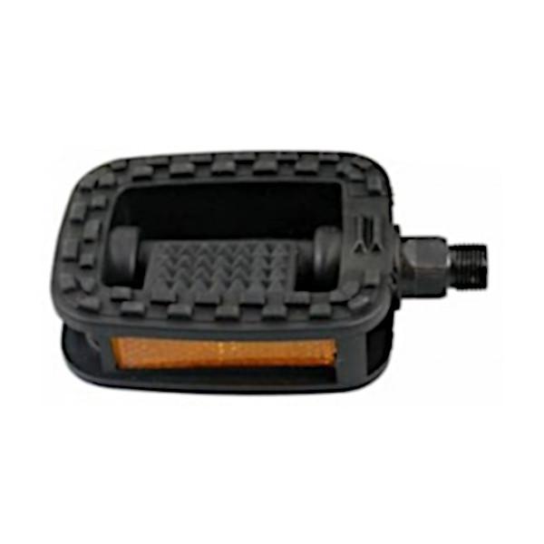Buchel pedalen set 9/16 inch stadsfiets zwart