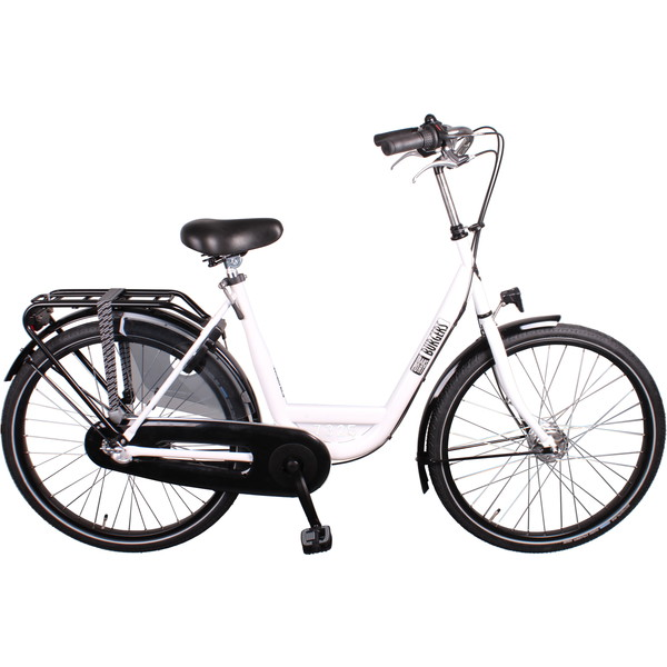 Burgers ID Personal 26 Inch 50 cm Dames 3V Rollerbrakes Wit