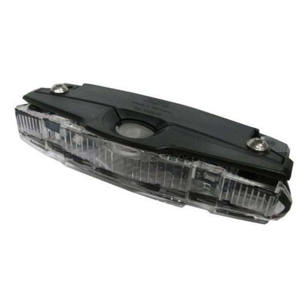 Busch Muller Achterlicht 53232B Goldline batterij zwart
