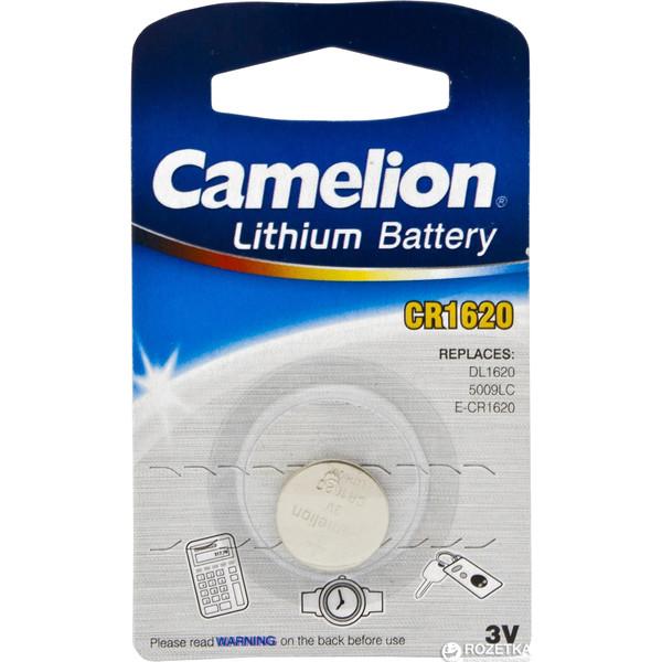 Knoopcel Batterij IEC code: CR1620, 5009LC, DL1620.