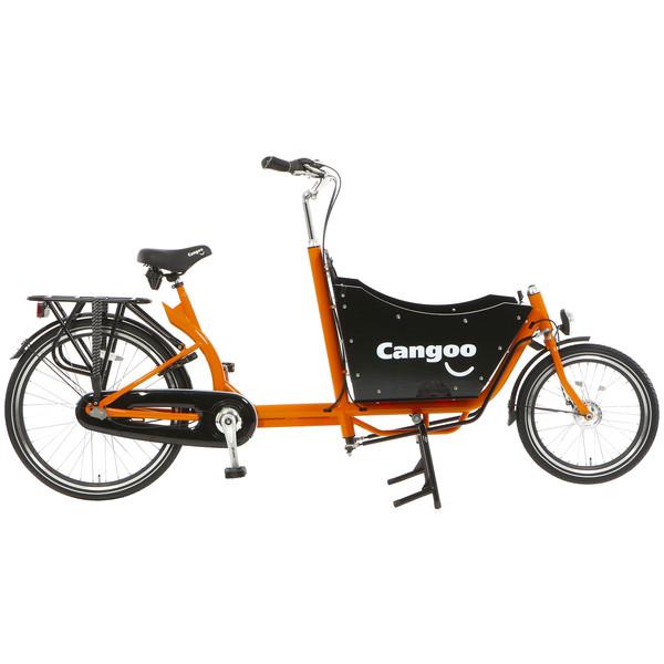 Cangoo Downtown N3 24 Inch 42 cm Unisex 3V Terugtraprem Oranje