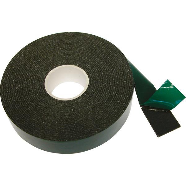 Carpoint dubbelzijdige tape 25 mm 5 meter zwart Onderdelen & Accessoires aanschaffen doe je het voordeligst hier